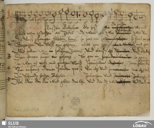 Vorschaubild von 106 Sacred songs - Mus.Löb.50,8