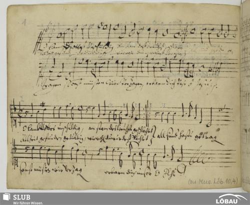 Vorschaubild von 106 Sacred songs - Mus.Löb.10,4