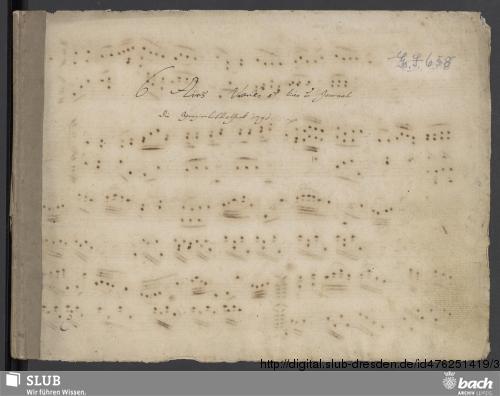Vorschaubild von 10 Keyboard pieces - Go. S. 658