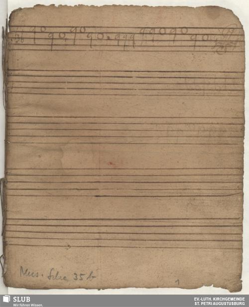 Vorschaubild von 14 Motets - Mus.Sche.35b