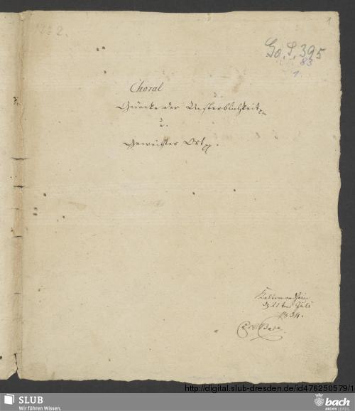 Vorschaubild von 2 Chorales - Go. S. 395