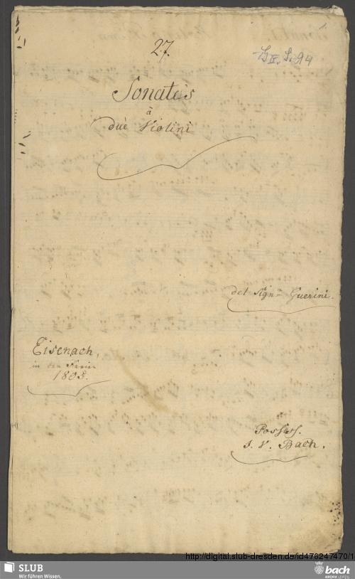 Vorschaubild von 2 Duets - Go. S. 94