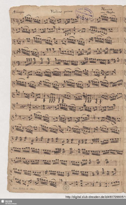 Vorschaubild von 2 Hymns - Mus.3356-E-501a
