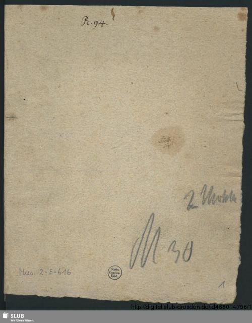 Vorschaubild von 2 Motets - Mus.2-E-616