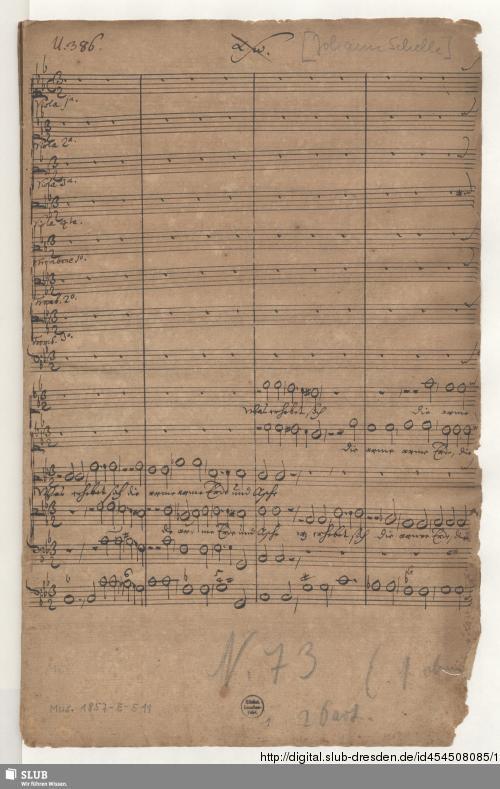 Vorschaubild von 2 Sacred concerts - Mus.1857-E-511