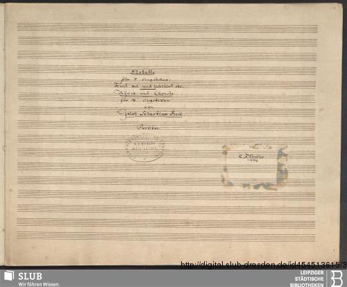Vorschaubild von 2 Sacred songs - Becker III.2.17