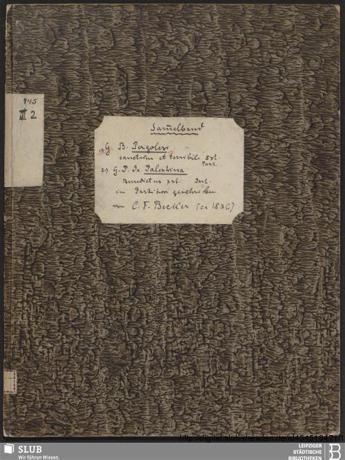 Vorschaubild von 2 Sacred songs - Becker III.2.145