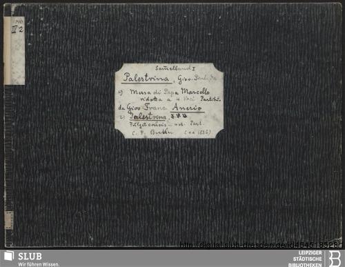 Vorschaubild von 2 Sacred songs - Becker III.2.140