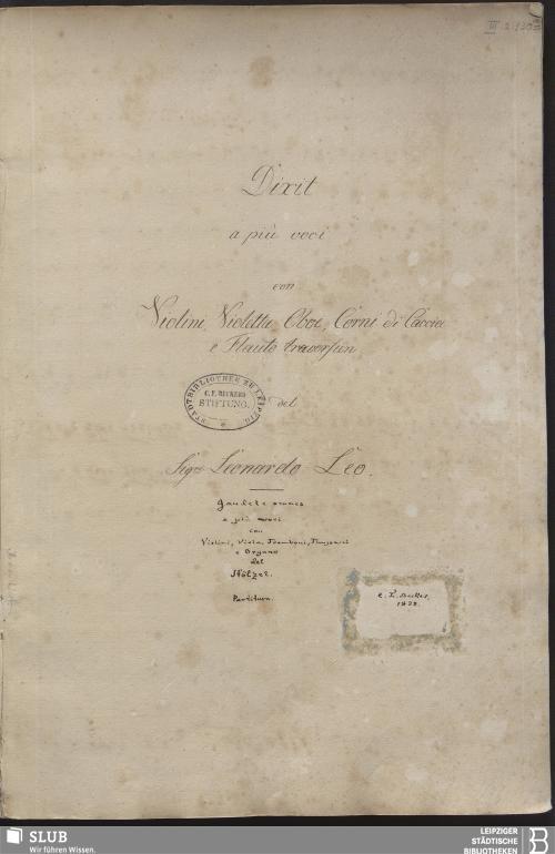 Vorschaubild von 2 Sacred songs - Becker III.2.130