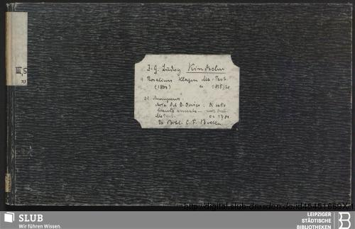 Vorschaubild von 2 Songs - Becker III.5.19