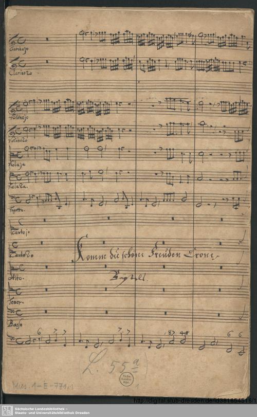 Vorschaubild von 2 Cantatas - Mus.1-E-771