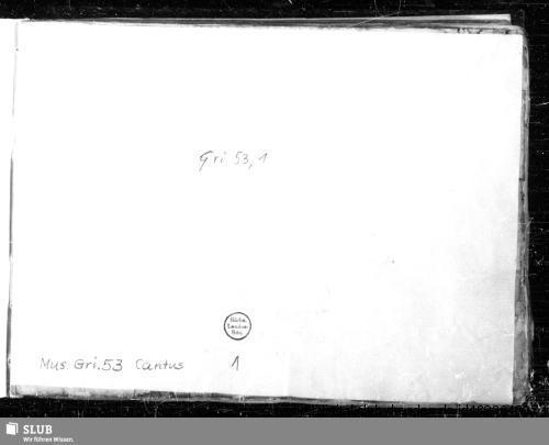 Vorschaubild von 30 Sacred songs - Mus.Gri.53