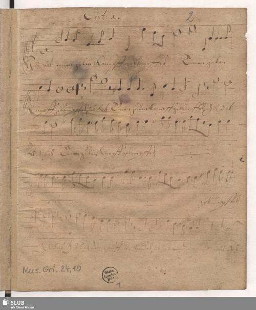 Vorschaubild von 3 Sacred songs - Mus.Gri.24,10