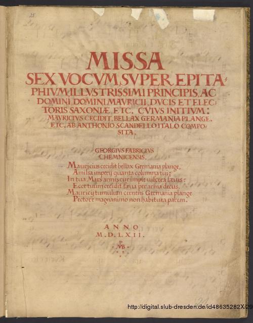 Vorschaubild von 3 Sacred songs  - Mus.Pi.Cod.I