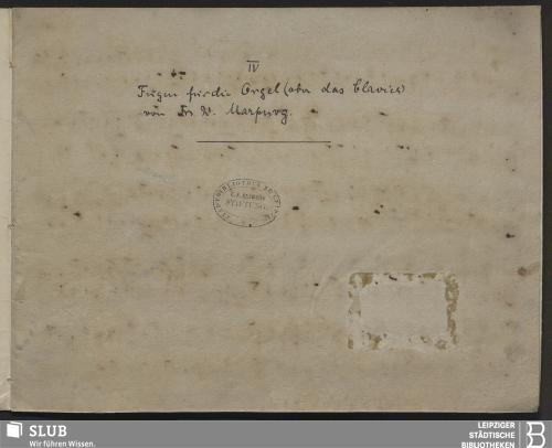 Vorschaubild von 4 Fugues - Becker III.8.51