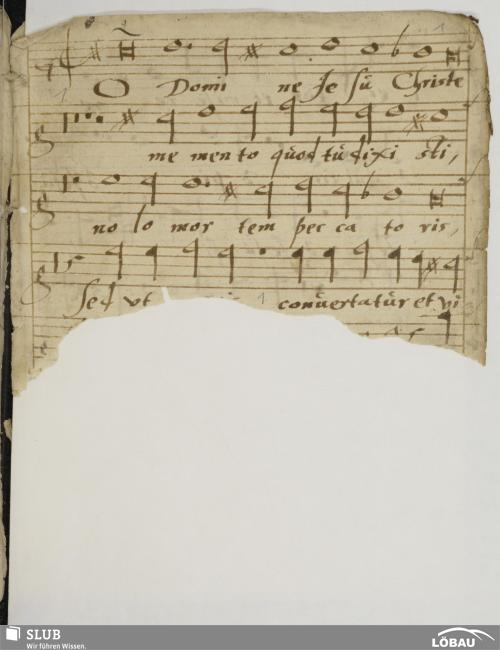 Vorschaubild von 4 Motets - Mus.Löb.18,2