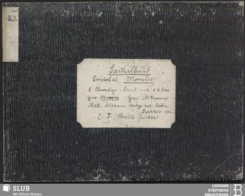 Vorschaubild von 6 Sacred songs - Becker III.2.135