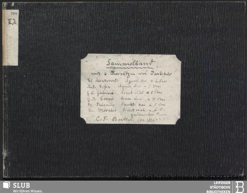 Vorschaubild von 6 Sacred songs - Becker III.2.134