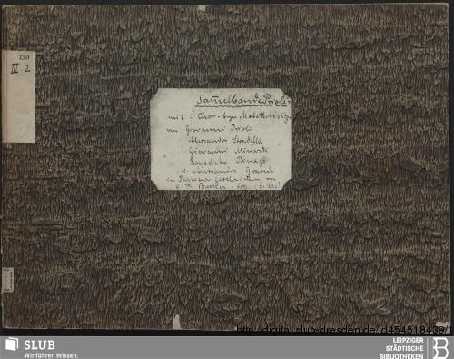 Vorschaubild von 7 Sacred songs - Becker III.2.150