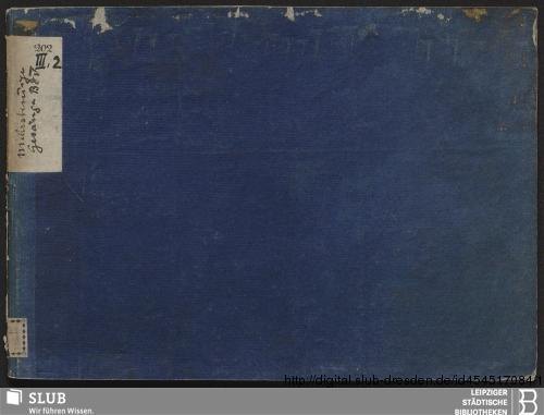 Vorschaubild von 8 Sacred songs - Becker III.2.202