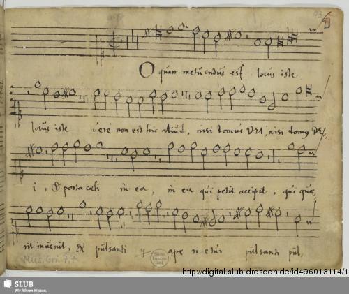 Vorschaubild von 94 Motets - Mus.Gri.7,7