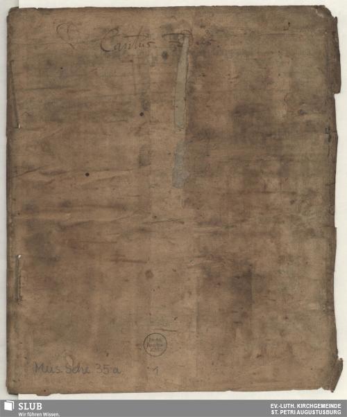 Vorschaubild von 9 Motets - Mus.Sche.35a