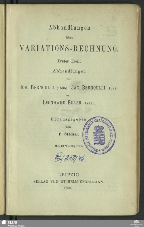 Vorschaubild von Abhandlungen