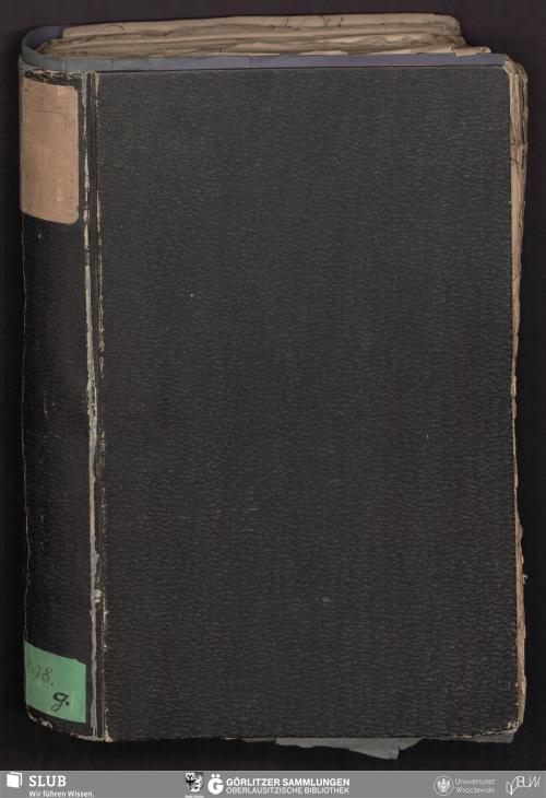 Vorschaubild von Actenstücke aus der Rathskanzlei zu Görlitz No VIII 1 Jan 1641 - 24 Sept 1642 - Bibliothek der Oberlausitzischen Gesellschaft der Wissenschaften Görlitz, L I 298g - UB Wrocław, Akc. 1948/508