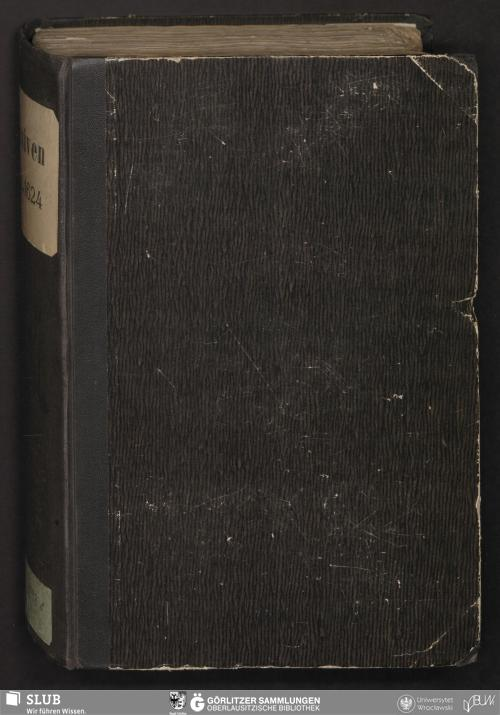 Vorschaubild von Actenstücke aus der Rathskanzlei zu Görlitz No V 31 Jan 1618 - 3 Dec 1624 - Bibliothek der Oberlausitzischen Gesellschaft der Wissenschaften Görlitz, L I 298b - UB Wrocław, Akc. 1948/526