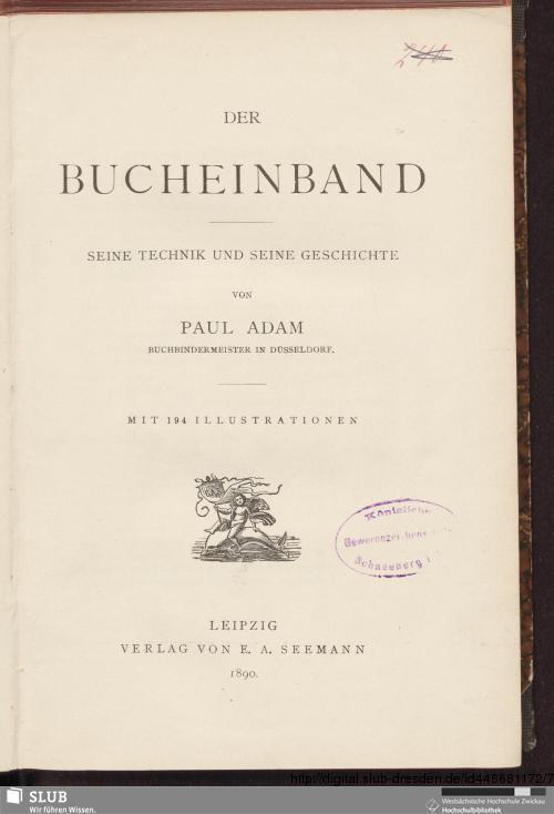 Vorschaubild von Der Bucheinband