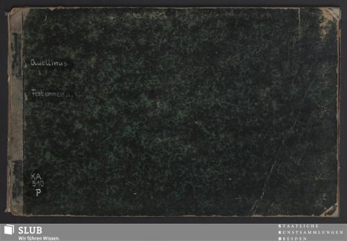 Vorschaubild von [Aerdighe Festonnen geinventeert door Artus Quellinus konstrÿck Beelt-Houwer der Stadt Amsteldam]