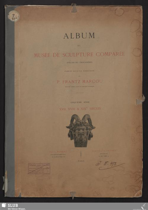 Vorschaubild von XVIIe siècle - XIXe siècles