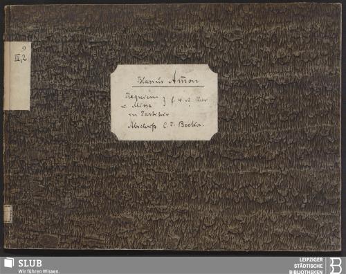 Vorschaubild von 2 Sacred songs - Becker III.2.9