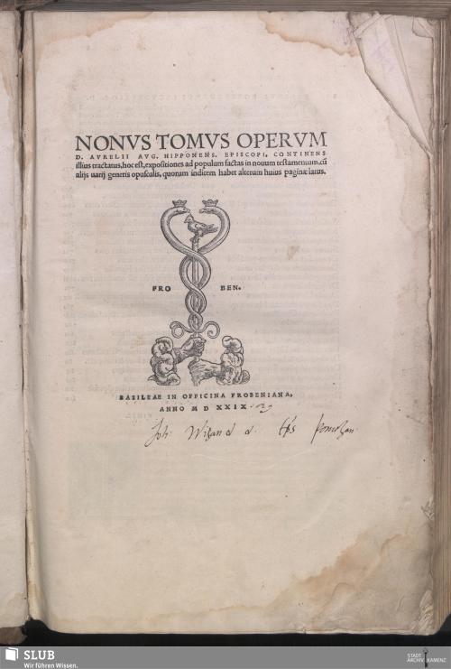 Vorschaubild von Continens tractatus, hoc est, expositiones ad populum factas in nouum testamentum, cu[m] alijs uarij generis opusculis
