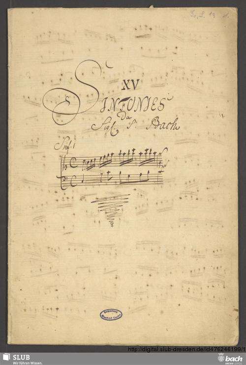 Vorschaubild von 15 Sinfonien - Go. S. 13