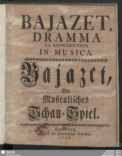 Vorschaubild von Bajazet