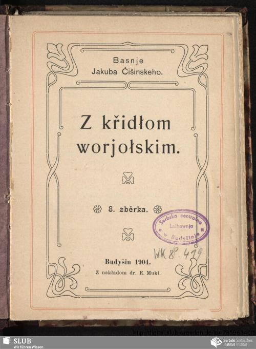 Vorschaubild von Z křidłom worjołskim