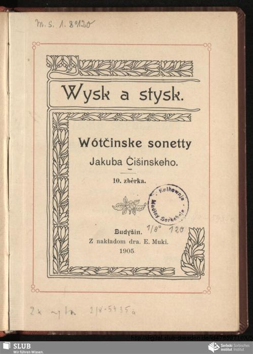 Vorschaubild von Wysk a stysk