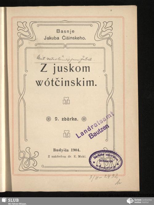 Vorschaubild von Z juskom wótčinskim