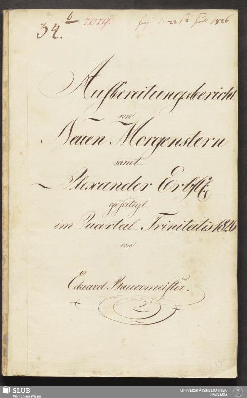 Vorschaubild von Aufbereitungsbericht von Neuen Morgenstern samt Alexander Erbst: - 18.6681 4.