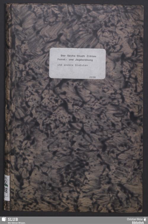 Vorschaubild von Bey dem Allmosen-Amte in der Churfürstlichen Sächßischen Sechs-Stadt Zittau ist vom 1sten Januar bis zum 31sten December 1790, I. Eingenommen worden : ... II. Ausgegeben worden : ...