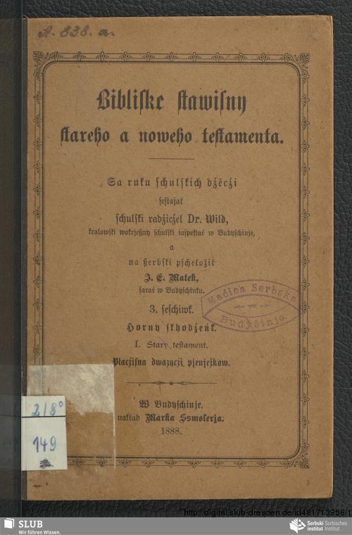 Vorschaubild von Horny skhodźeńk. I. Stary testament