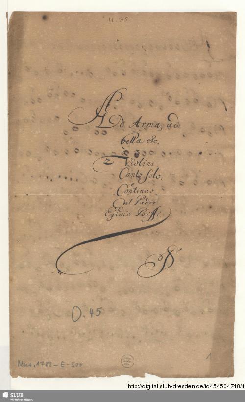 Vorschaubild von Ad arma ad bella ad clades - Mus.1789-E-500