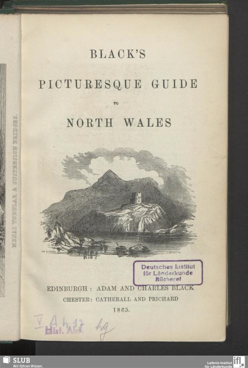 Vorschaubild von Black's picturesque guide to North Wales