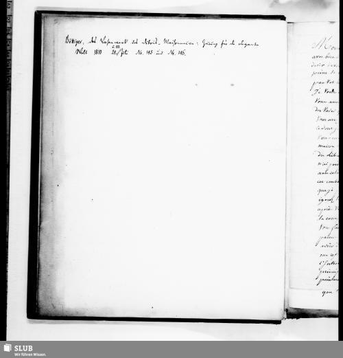 Vorschaubild von Briefe Du. an Böttiger - Mscr.Dresd.h.37,4˚,Bd.39