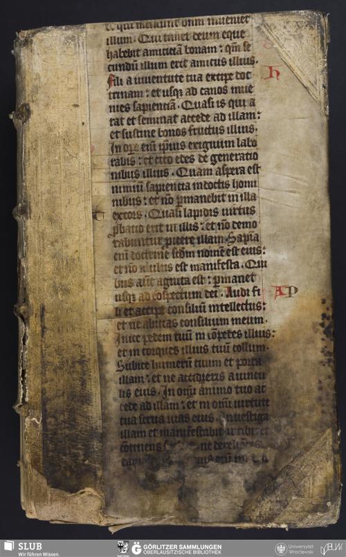 Vorschaubild von Abschieds Rede - Milichsche Stadt- und Gymnasialbibliothek Görlitz, Mil. Bibl. C. Ch. fol. 130 - UB Wrocław, Mil. II/130.20