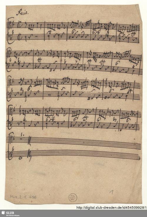 Vorschaubild von Cantatas. Excerpts - Mus.2-E-656