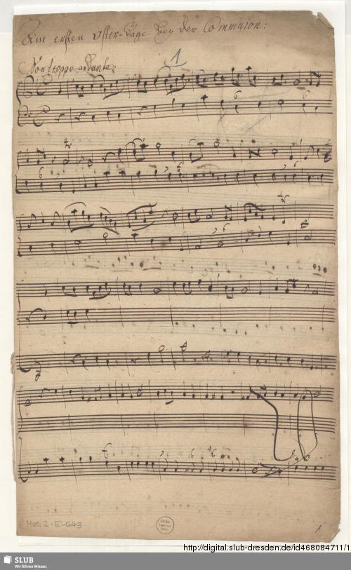 Vorschaubild von Cantatas - Mus.2-E-643