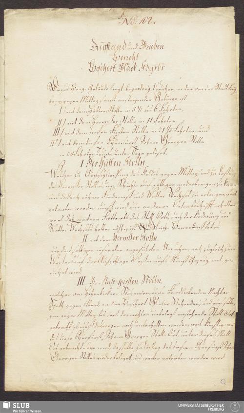 Vorschaubild von Aufstand und Gruben Bericht von Beschert Glück Fdgrbr - 17.6612 4.