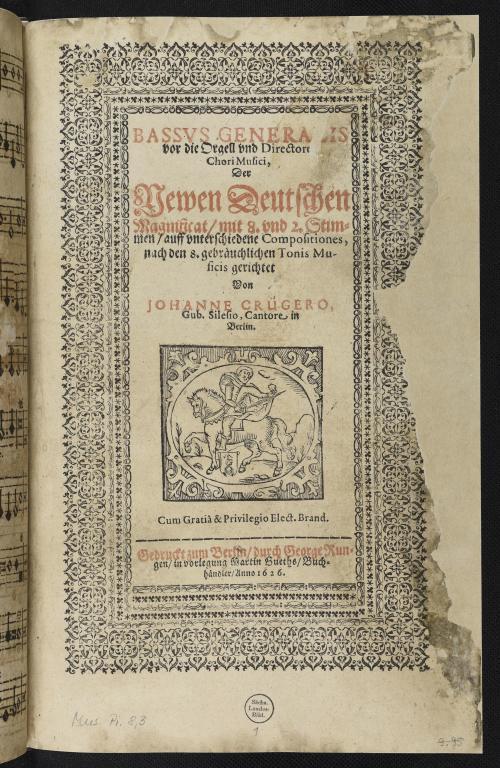 Vorschaubild von Meditationum Musicarum Paradisus Secundus